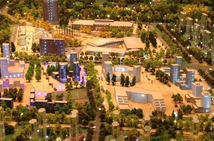 绿地国宝21城实景图