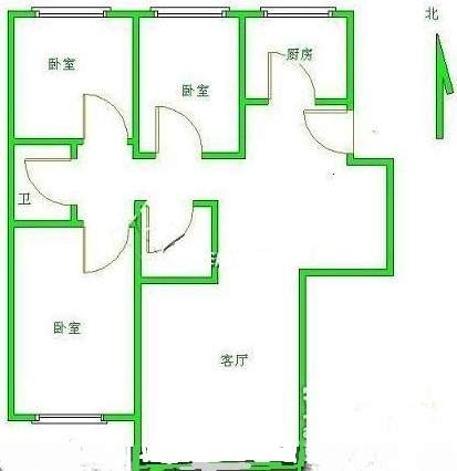 华汇公寓(出租)户型图
