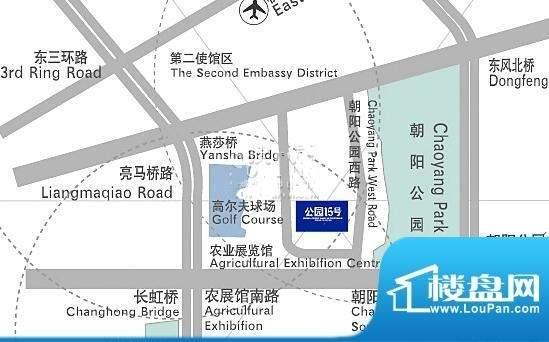 维多莉亚花园公寓位置图