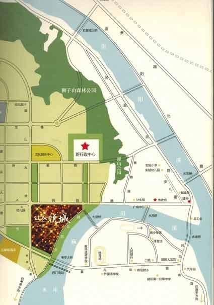 建阳建发悦城位置图