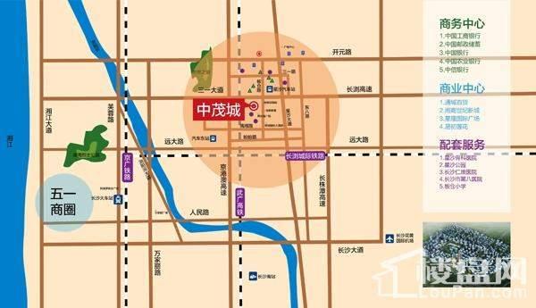 中茂城效果图位置图