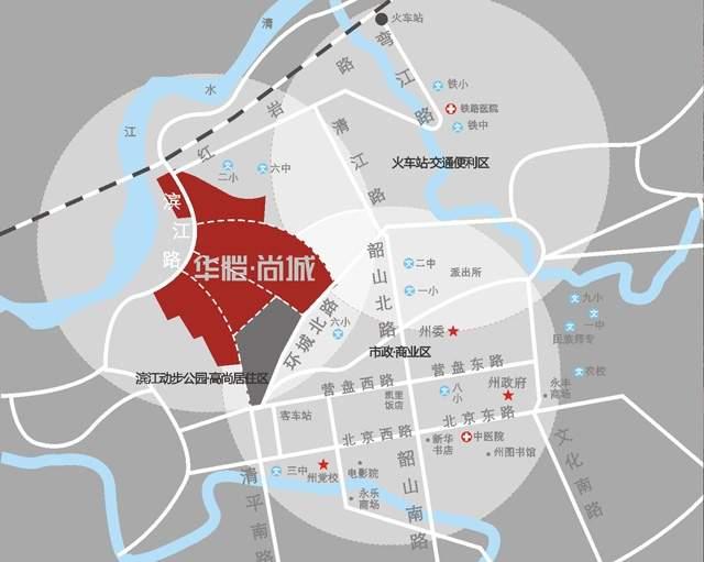 华恺尚城位置图