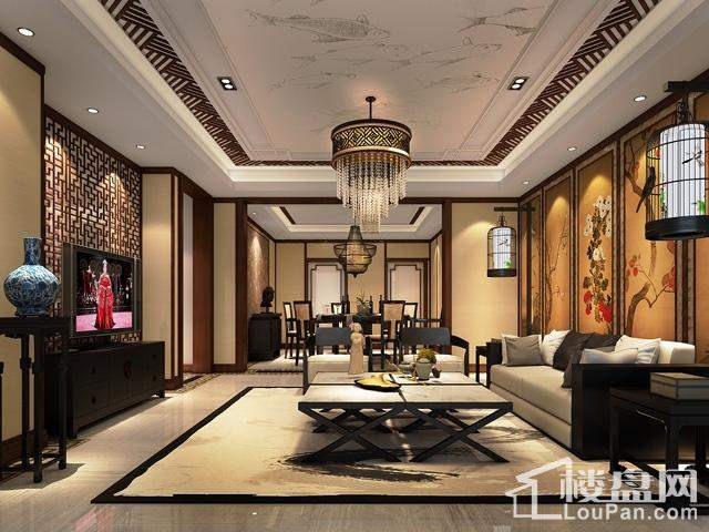 中式 客厅