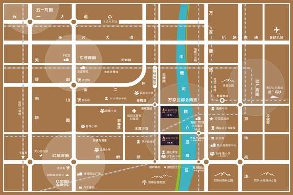 清溪川九号位置图