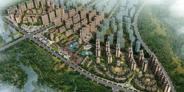 中建·幸福城效果图