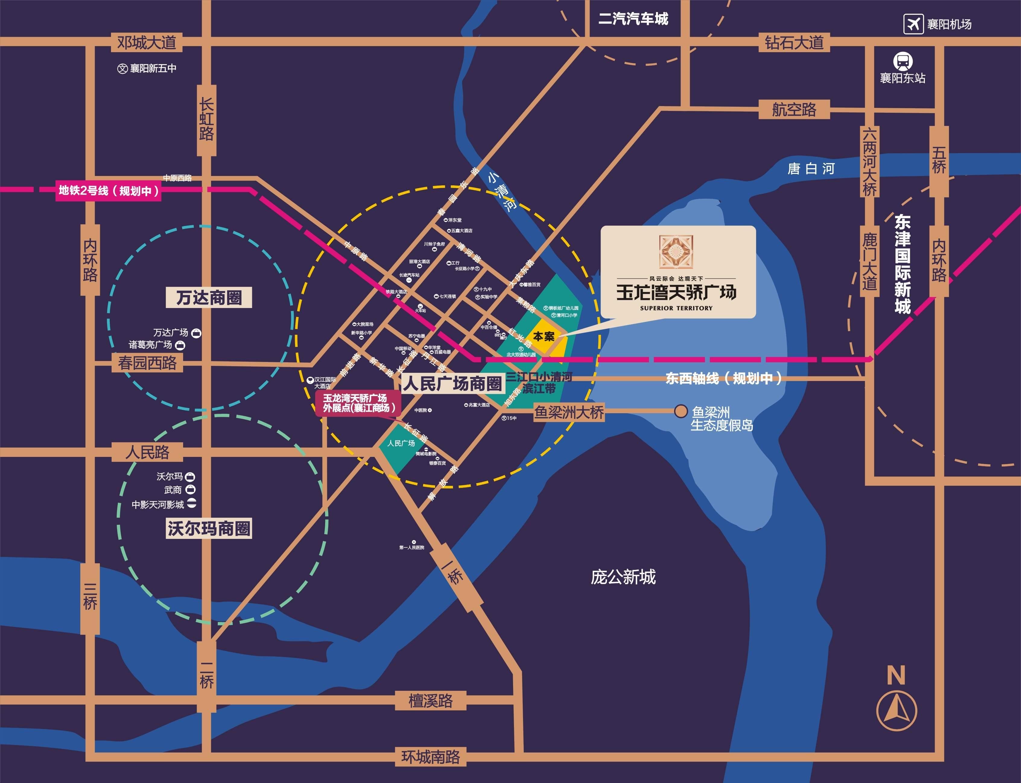 玉龙湾天骄广场位置图