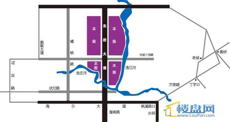 东欣·彩虹城 位置图