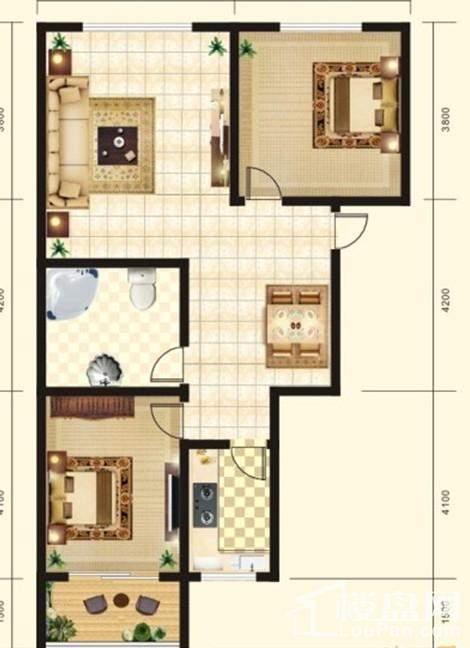 金领郦家户型图