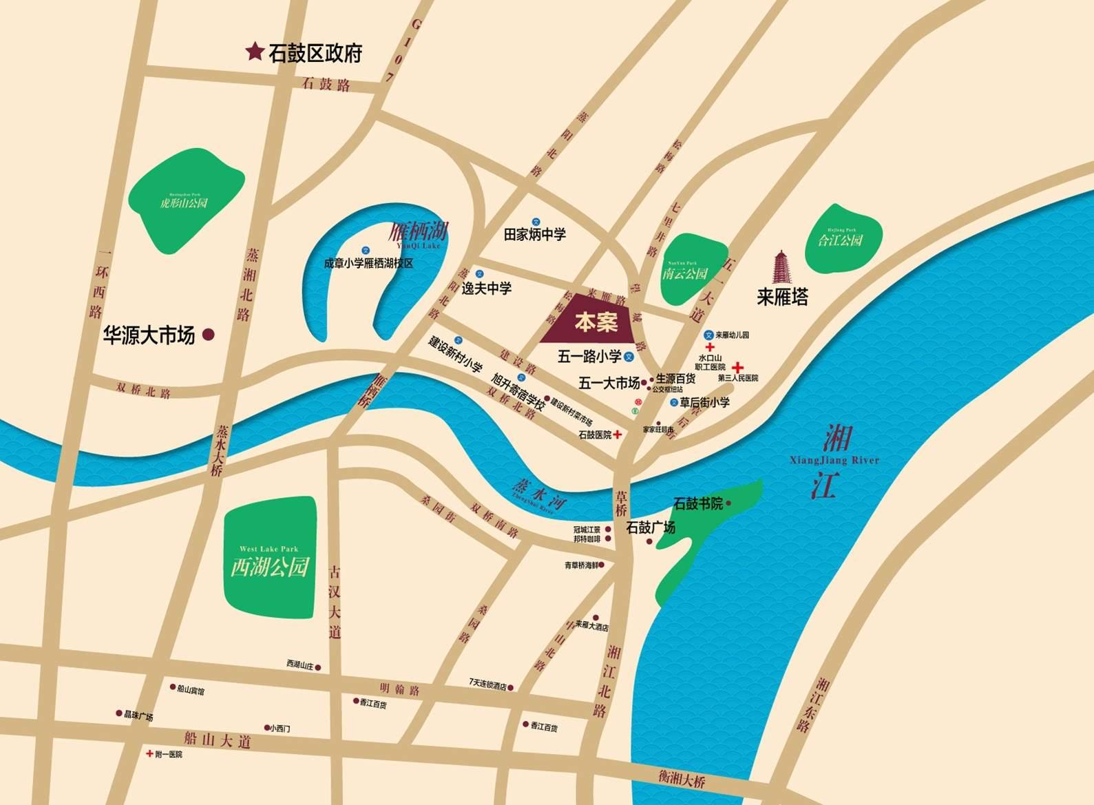 庆龙·新视界位置图