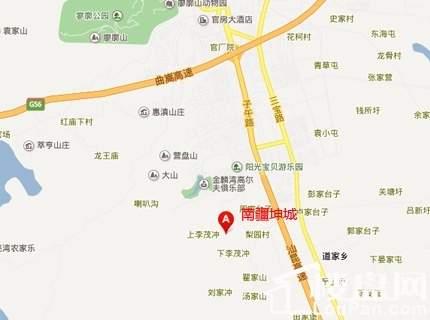 南疆坤城别墅位置图