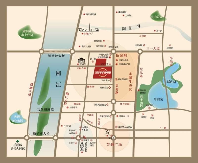天健金融广场位置图