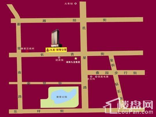 九龙·财智公馆位置图