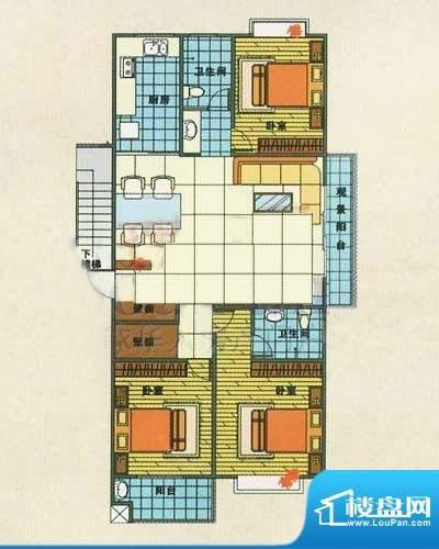 金马怡园户型图