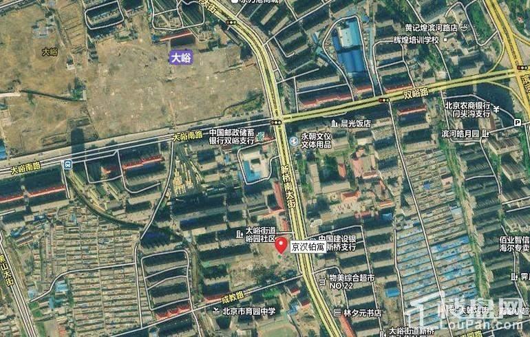 京汉铂寓(门头沟)位置图