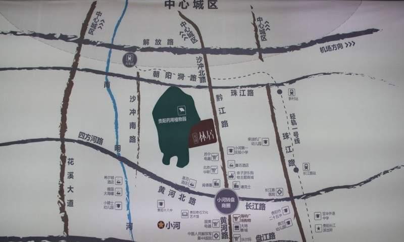 元琦林居位置图