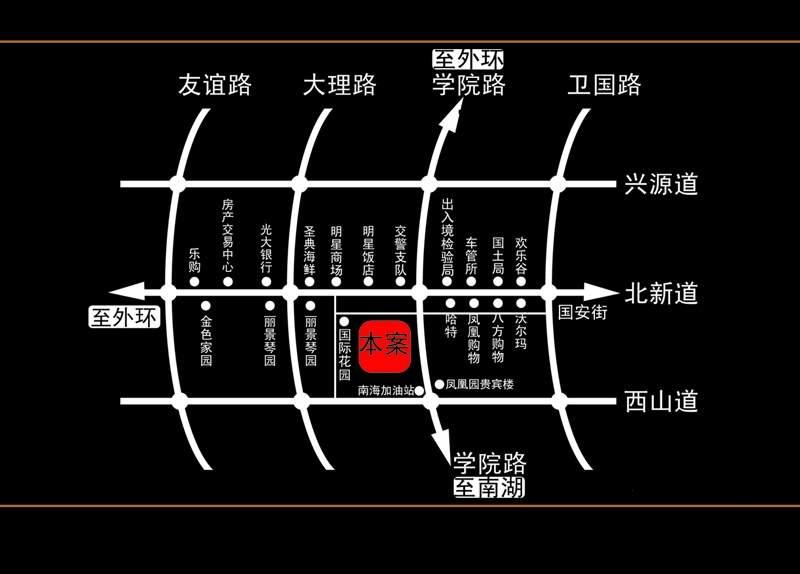 福地大厦位置图