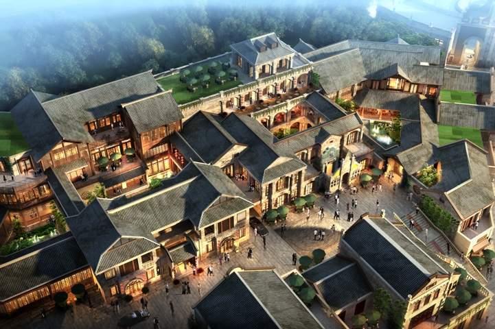 尚湖城时光贵州效果图