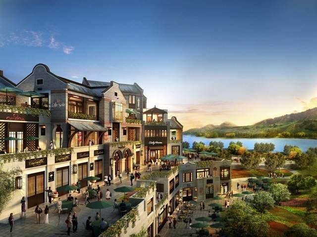 尚湖城时光贵州实景图