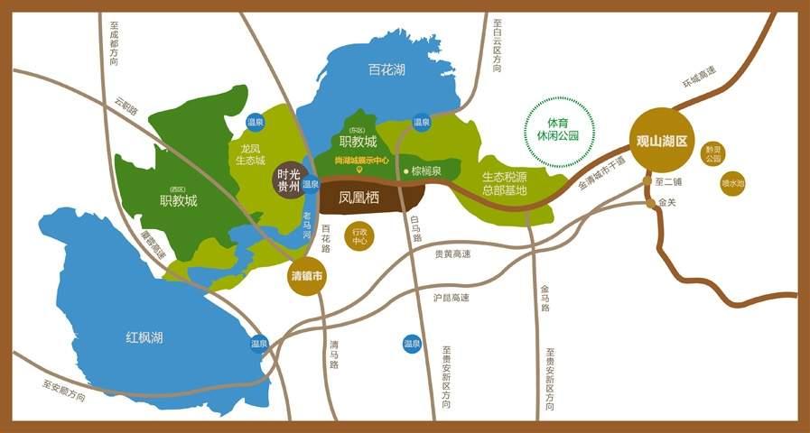 尚湖城时光贵州位置图