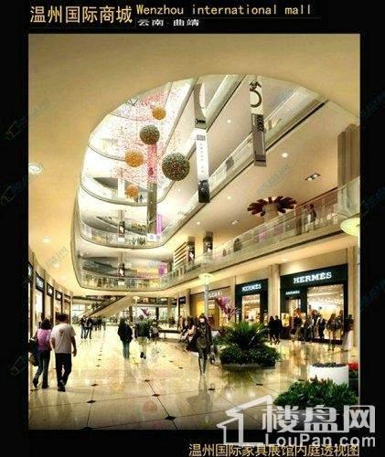 温州国际商城效果图