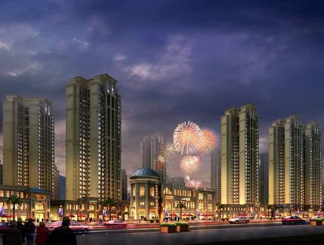 尚湖城实景图