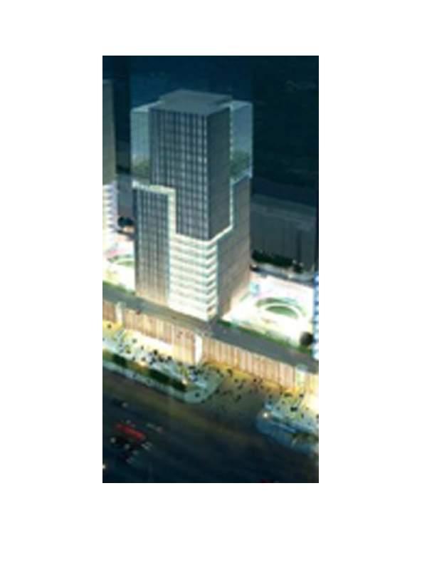 名仕国际大厦效果图