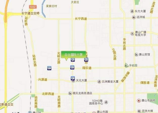 名仕国际大厦位置图
