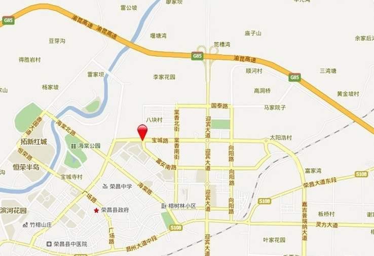 琳昌上上城位置图