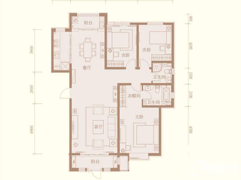 一梯两户房子设计图展示