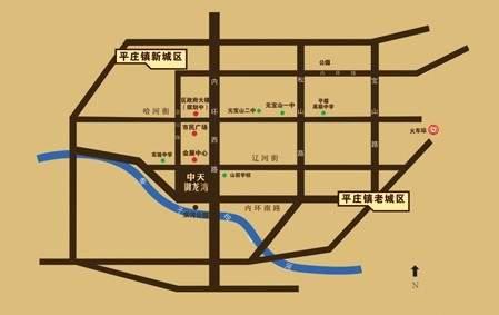 中天·御龙湾位置图