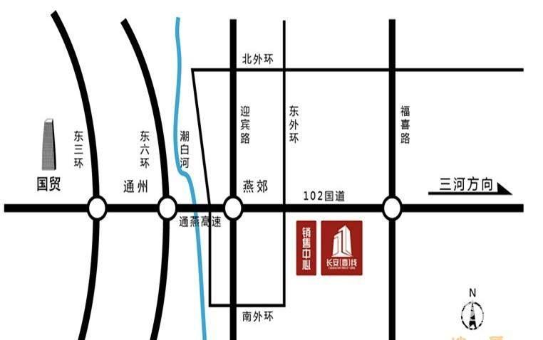 长安壹线位置图