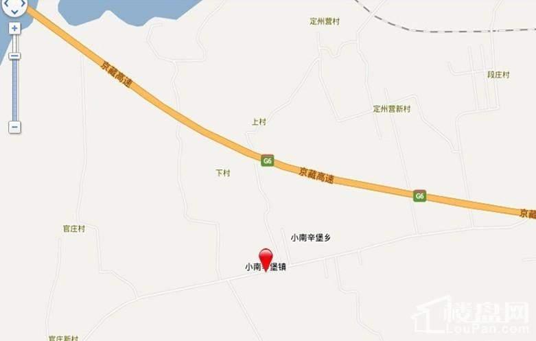 海棠花溪生态养老宜居小镇(住宅)位置图