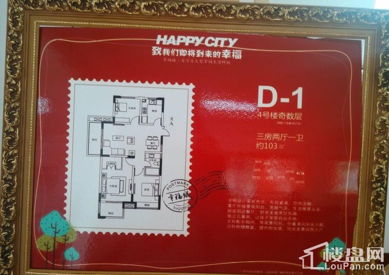 金圆幸福城户型图