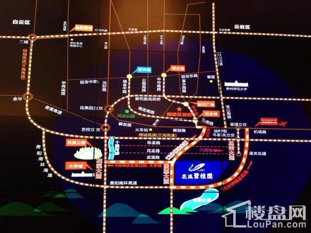 花溪风景名胜区地图