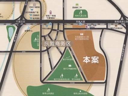 中房翡翠园位置图