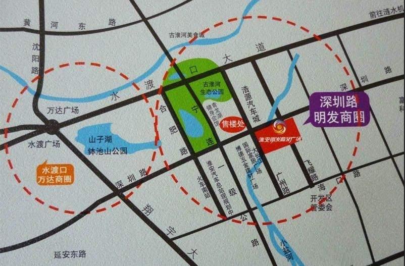 明发商业广场位置图