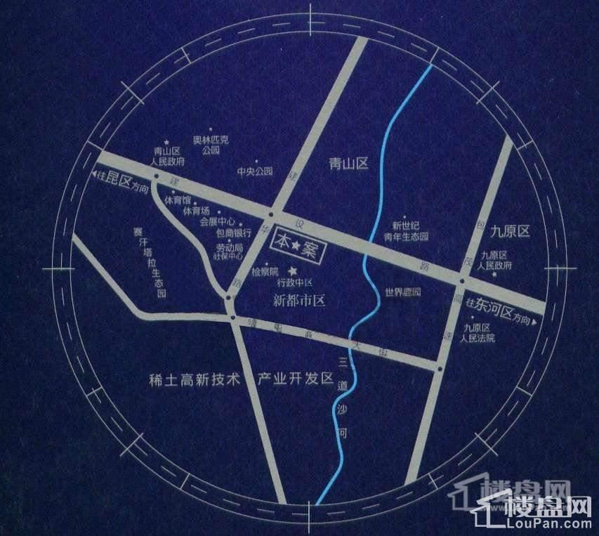 天福广场公寓位置图