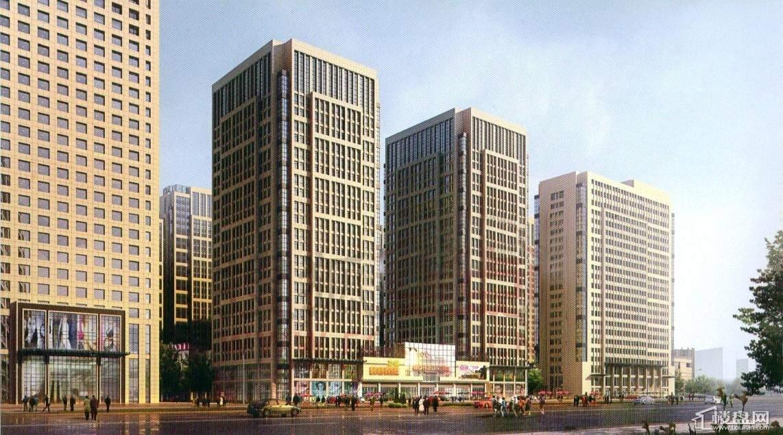 天福广场公寓效果图