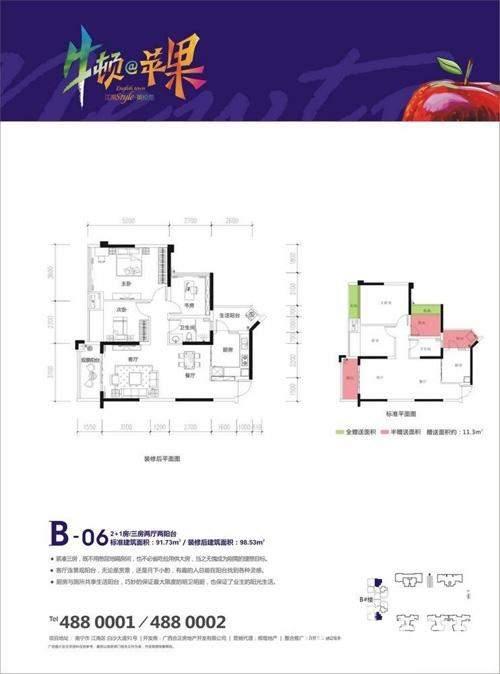 项目B06#户型图