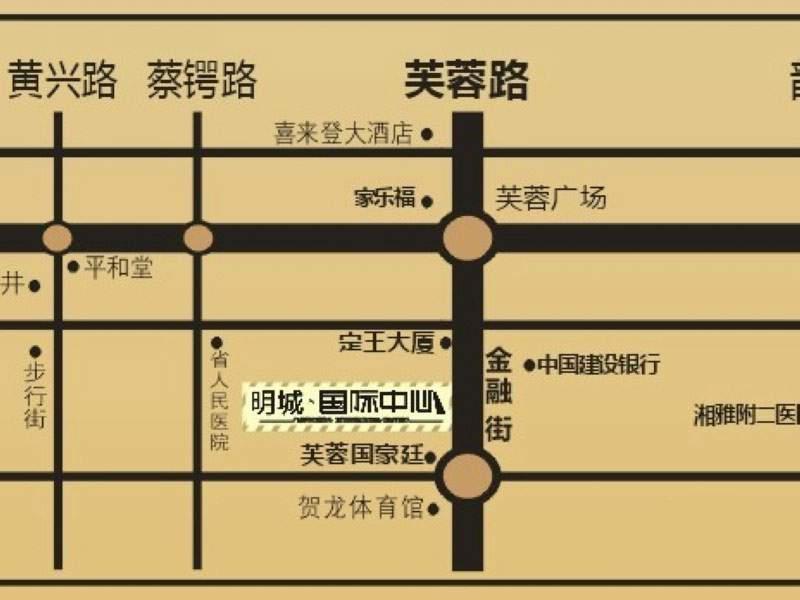 明城国际中心位置图