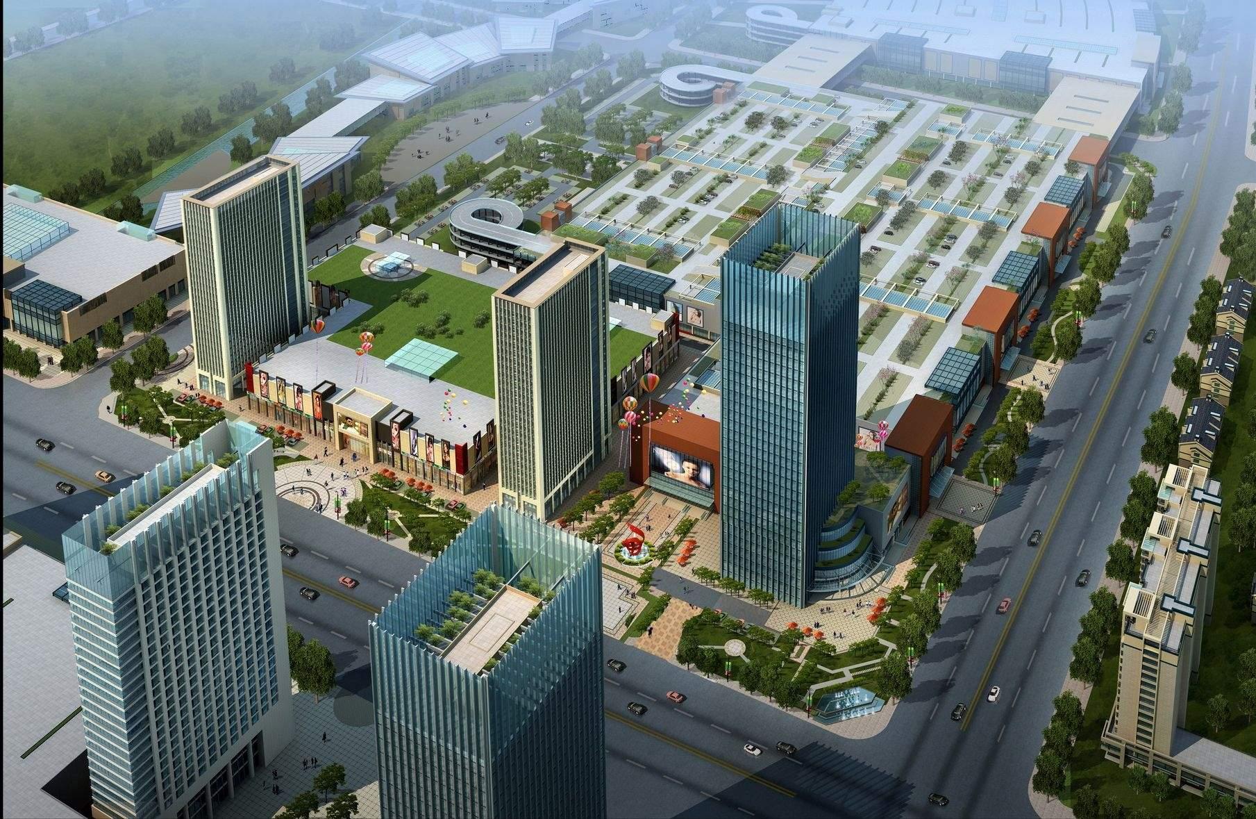 淮安现代国际新城效果图