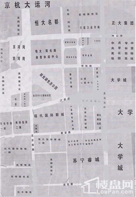 淮安现代国际新城位置图