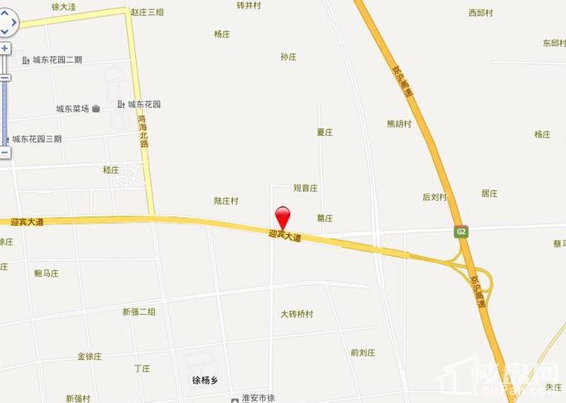东湖锦绣位置图