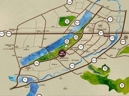 南湖名都广场位置图