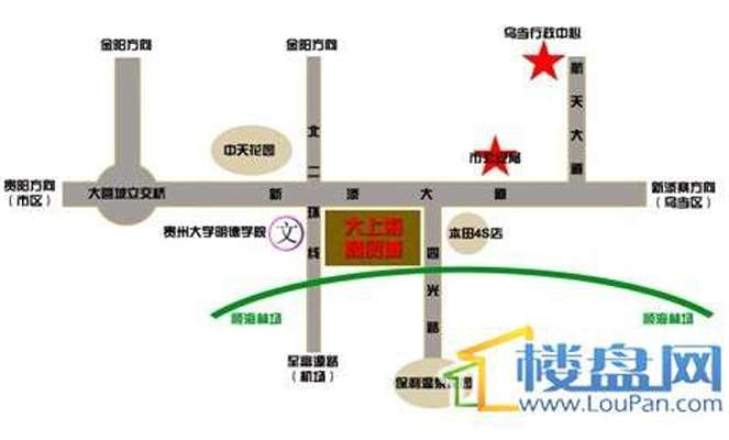 大上海商贸城位置图
