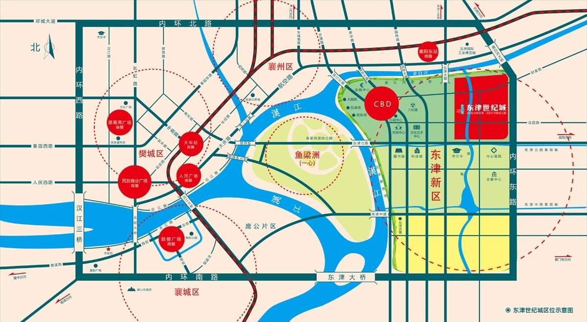 东津世纪城位置图