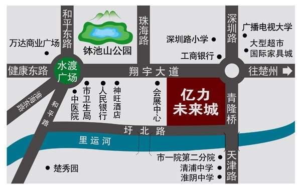 亿力未来城位置图