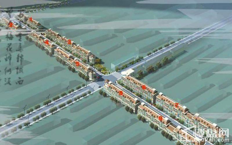 东城富景·第一街效果图