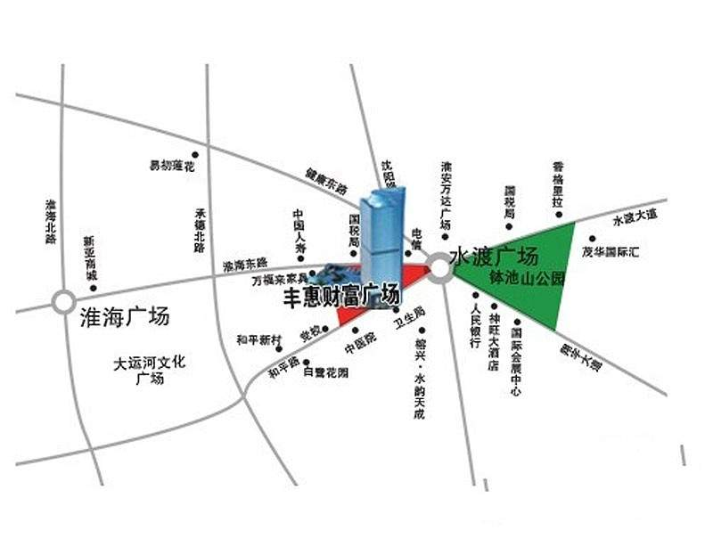 丰惠财富广场位置图