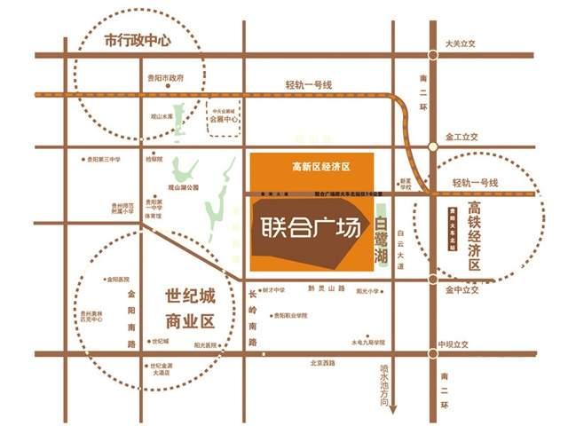 联合广场位置图